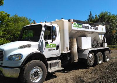 alpine resources concrete truck