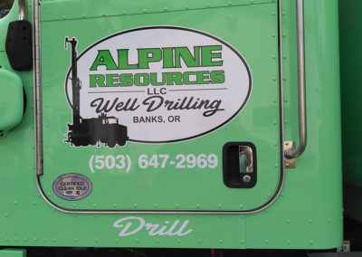 alpine resources well drilling